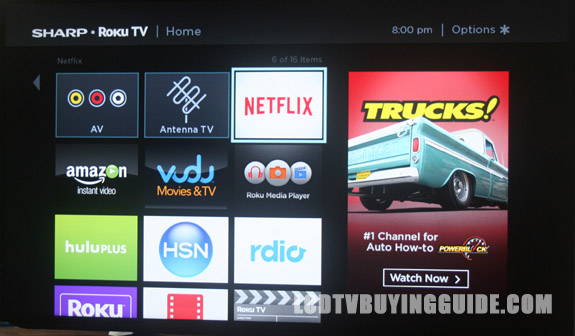 roku smart guide no data available