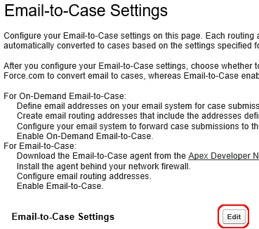 salesforce email to case implementation guide