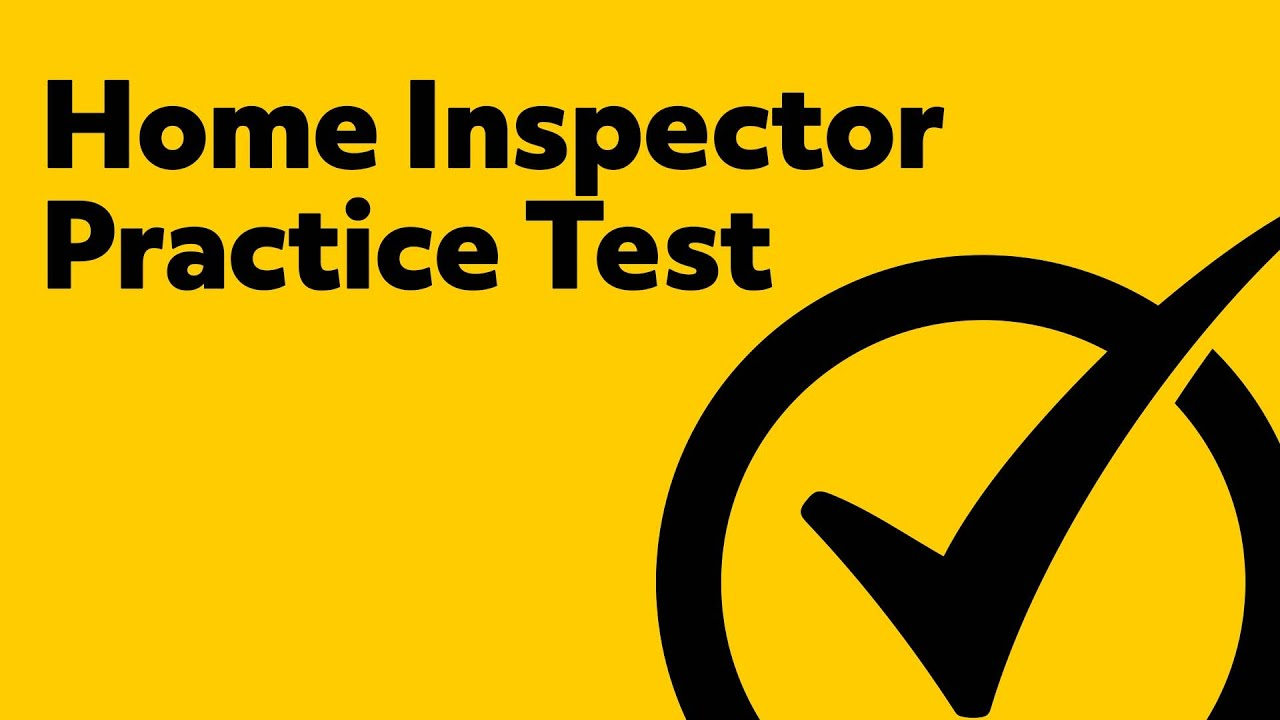 national home inspector examination study guide