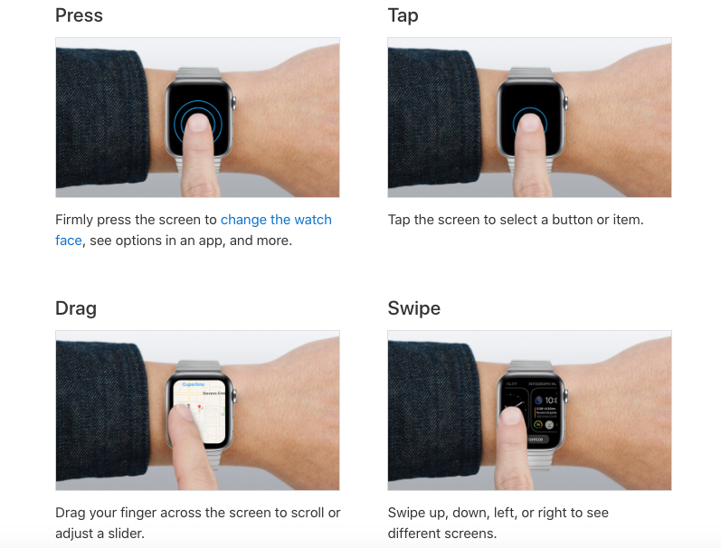 apple watch user guide ibook