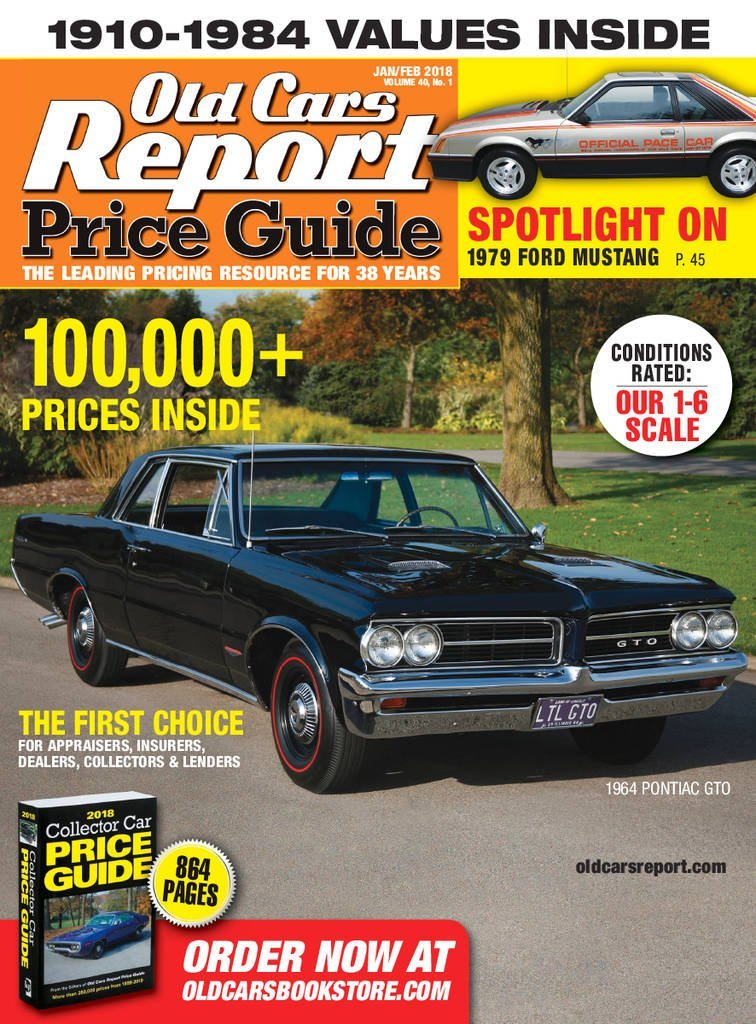 old car price guide values