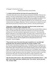 a passage to india study guide