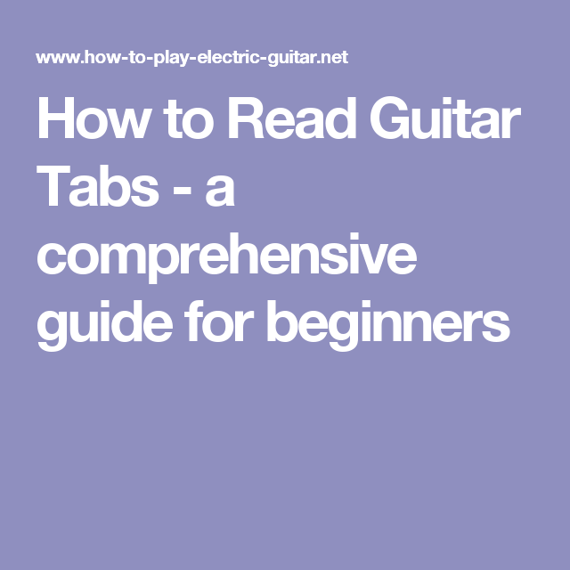 beginners guide to music theory