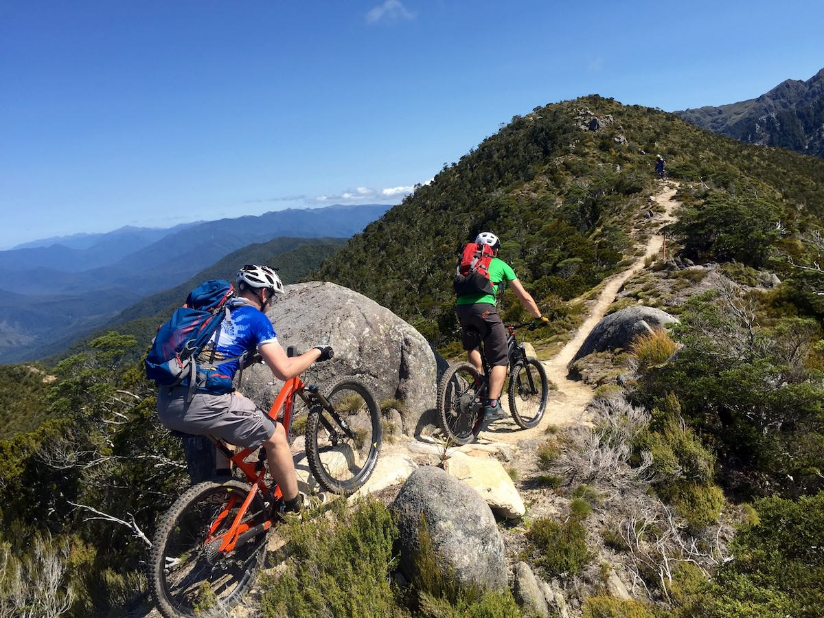 guided mountain bike weekend rides alps